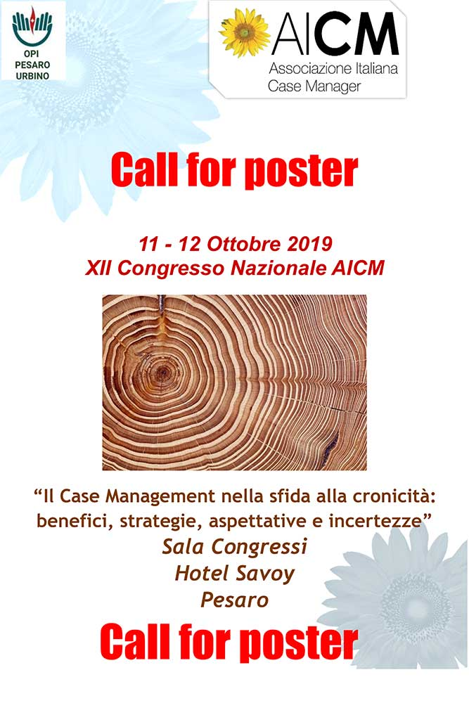 Call for Abstract – Congresso AICM Pesaro