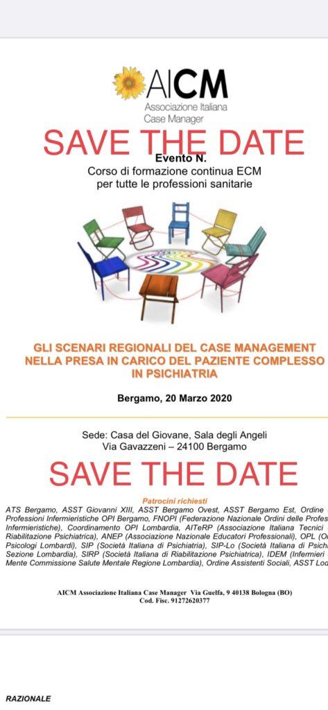 ANNULLATO – Convegno 20 Marzo Bergamo
